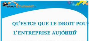 Le Droit pour l'Entreprise Aujourd'hui : Cours Droit Terminale STG