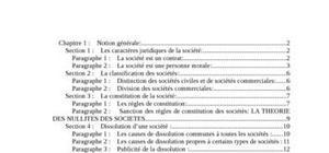Droit des societés malgaches
