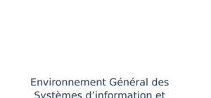 Environnement général des systèmes d'information et démarche audit