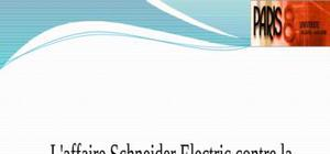 Expose sur l'affaire schneider electric