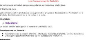 Les comportements addictifs