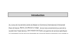 Rapport de Stage DUT Finance Comptabilité