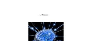 Etude de la mémoire.