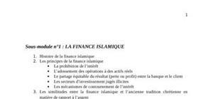 Finance islamique au senegal