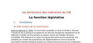 La fonction législative