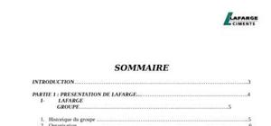 Exemple conclusion rapport de stage
