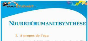 Nourrir l'humanité : Cours Première ES - L