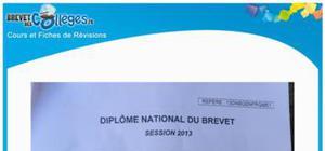 Sujet de Français Brevet 2013