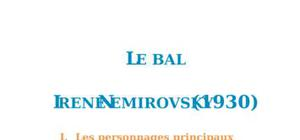 Résumé et analyse de : Le Bal, Irène Némirovsky