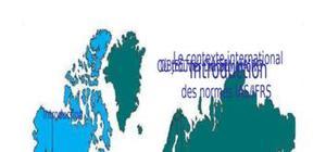 Normes internationales d'information financière ias/ifrs