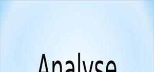 Analyse financière et économique