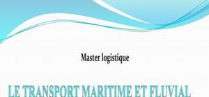 Le transport maritime et fluvial