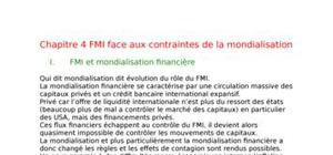 Le Fond Monétaire International (FMI)