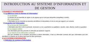 Ue8 module 2 systeme information gestion
