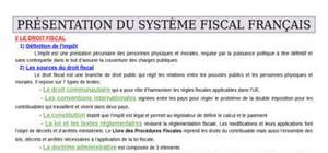 Module de Droit Fiscal