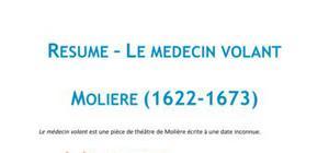 Le médecin volant, Molière - Fiche de lecture Français