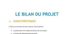 Le Bilon du projet - BTS NRC