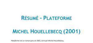 Plateforme, Michel Houellebecq - Résumé