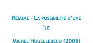 La possibilité d'une île, Michel Houellebecq - Résumé