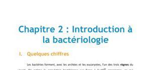 Chapitre 2 : introduction à la bactériologie - Biologie PACES