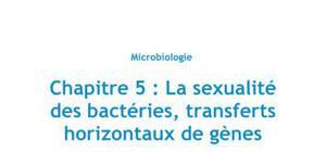 Chapitre 5 : la sexualité des bactéries, transferts horizontaux de gènes, Partie 2 : la transduction - Biologie PACES