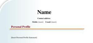 Sales assistant internship CV example