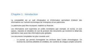 Introduction - Gestion