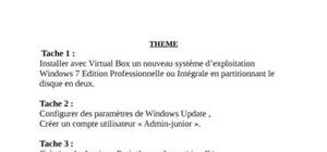 Installer Windows 7 intégrale avec VirtualBox