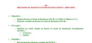 Les principes d'évaluation du B.F.R.E