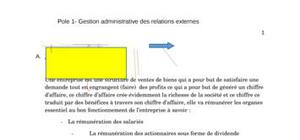 Pole 1- Gestion administrative des relations externes