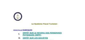 Le système fiscal Tunisien