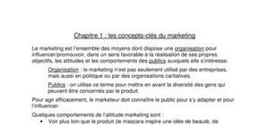 cours marketing( le concept)