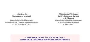 L'industrie de recyclage en France