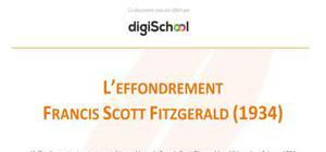 L'effondrement - Francis Scott Fitzgerald