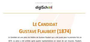 Le candidat - Gustave Flaubert