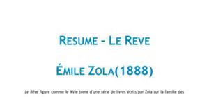Le rêve - Emile Zola