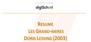 Les Grand-mères - Doris Lessing