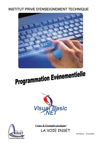 Programmation Evenementiel VB DotNet