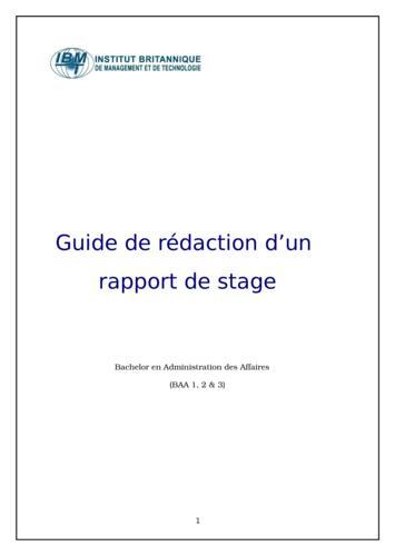 Les étapes à suivre pour réussir un exposé d'un rapport de stage