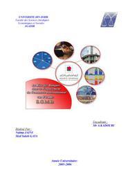 Le rôle des banques dans le financement du commerce internationnal