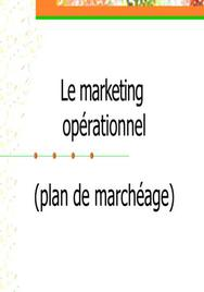 Le marketing opérationel