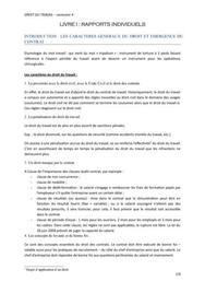 Droit du travail (cours)