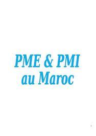 Les PME et PMI au Maroc