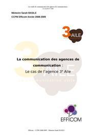 La communication des agences de communication