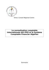 Ouvrages ias-ifrs algerie