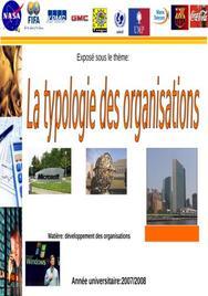 Typologie des Organisation