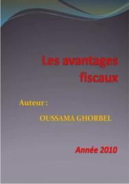 Les avantages fiscaux en tunisie (version 2010)