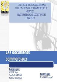 Les documents commerciaux