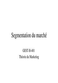 La segmentation en marketing