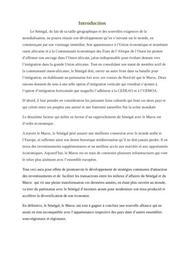 Partenariat économiques entre le maroc et le sénégal